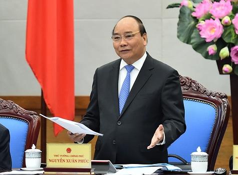 Thủ tướng Chính phủ Nguyễn Xuân Phúc (Ảnh nguồn Chinhphu.vn).