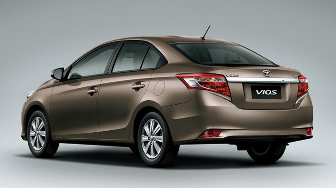 Toyota Vios được đánh giá là một trong những chiếc xe ô tô bền nhất thị trường Việt. Ảnh: Toyota