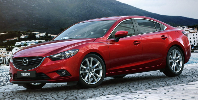 Mazda 6 là một trong những đối thủ đáng gờm nhất của Toyota Camry. Ảnh: Mazda