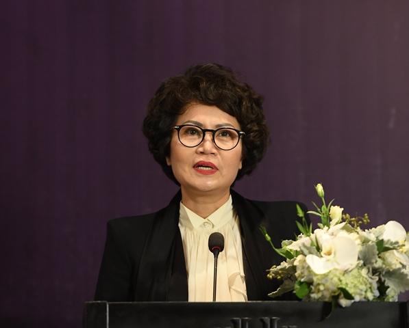 Bà Nguyễn Thị Quỳnh Anh, Thành viên Hội đồng điều hành, Tổng Giám đốc Sun Symphony Orchestra.