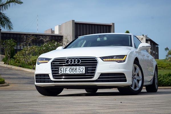 Bảng giá xe Audi tại Việt Nam tháng 10/2017