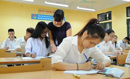 UBND TP Hà Nội đề nghị kỳ thi được diễn ra công bằng, khách quan, đảm bảo đúng luật trong công tác tuyển sinh mầm non, lớp 1, lớp 10 năm 2016. Ảnh minh họa.
