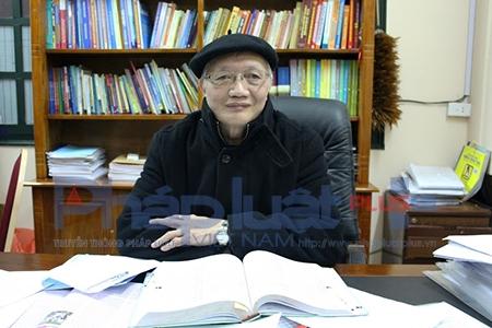 TS Nguyễn Tùng Lâm chia sẻ cùng Phapluatplus. Ảnh: Đức Biên.