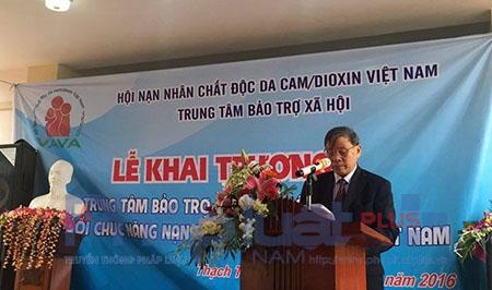 Ông Nguyễn Văn Rinh - Chủ tịch Trung tâm Bảo trợ xã hội cho biết: