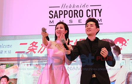 Cả ê - kip đã chọn một thành phố hùng vĩ, nên thơ tại Nhật Bản để thực hiện MV...