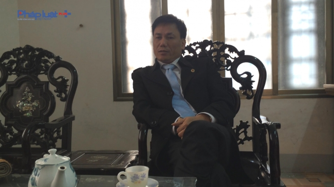 Ông Lê Hùng – Phó Chi cục trưởng - Chi cục Quản lý thị trường tỉnh Vĩnh Phúc. (ảnh: Mộc MIên).