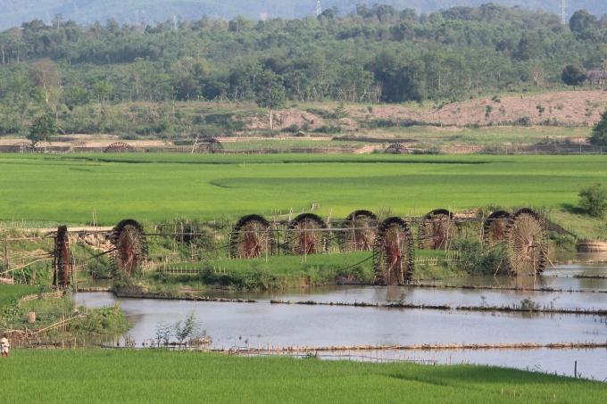 Ruộng đồng ở Chiêng Ngam thuộc Huyện Quỳ Châu - Nghệ An. (ảnh: Minh Long).