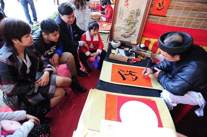 Gia đình anh Tuấn Anh ở Hà Nội xin chữ Trí cho hai con với mong muốn các con có chí tiến thủ, học hành chăm chỉ và thành công.