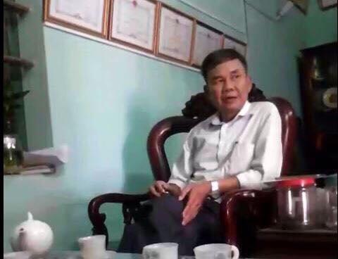 Ông Lê Đăng Nghĩa, Chủ tịch UBND xã Lạc Vệ, huyện Tiên Du, tỉnh Bắc Ninh.