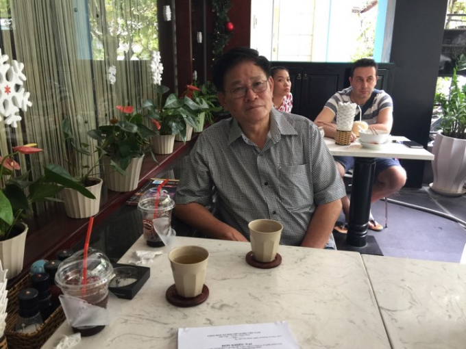 Ông Nguyễn Thái Hòa, nguyên Chủ tịch hội đồng thành viên, Tổng giám đốc Công ty cổ phần phim Giải Phóng.