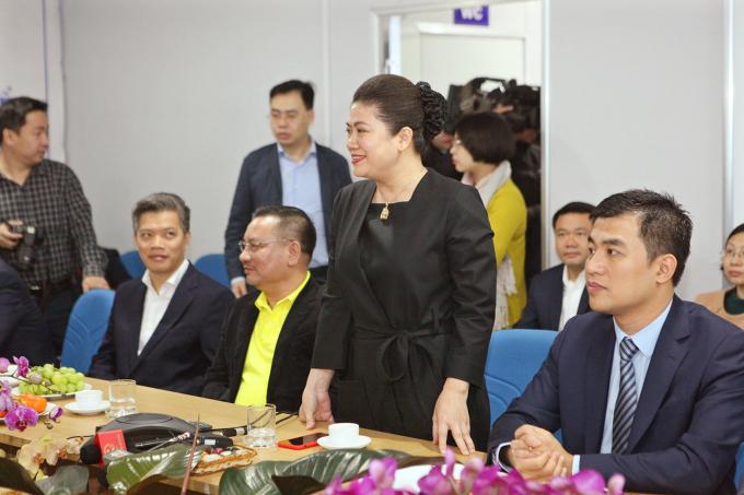 Bà Đỗ Thị Kim Liên, Chủ tịch HĐQT Công ty cổ phần nước mặt sông Đuống.