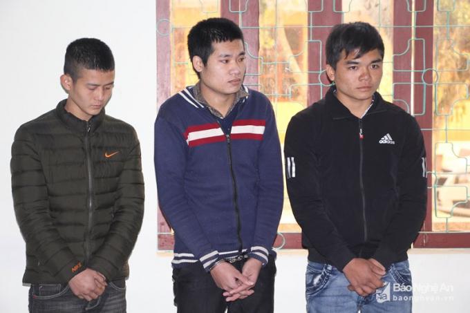 3 yêu râu xanh bị tuyên phạt gần 17 năm tù giam. Ảnh: Báo nghệ an