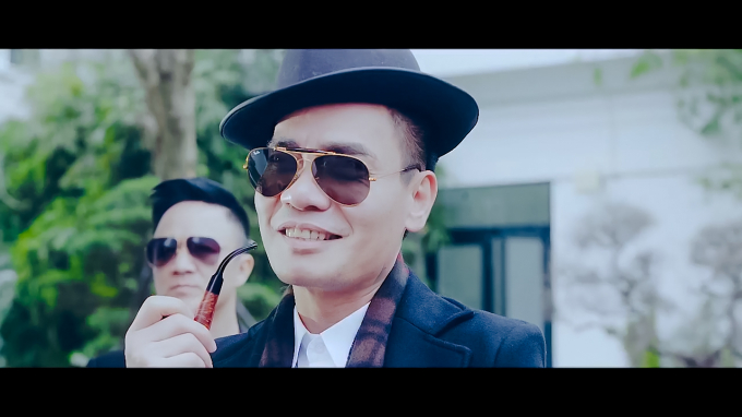 ca sĩ Huy Cường trong phim Huyết Chiến