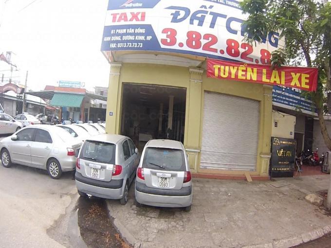 Văn phòng đại diện của công ty hãng xe taxi Đất Cảng tại Hải Phòng