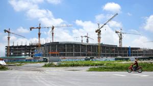 Dự toán hạng mục kết cấu phần ngầm của cả 2 dự án đều tăng vượt từ 40 - 50% so với giá trị đã được phê duyệt. Ảnh: Lê Tiên