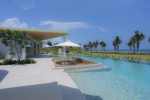 Toàn bộ biệt thự tại FLC Quy Nhơn đều hướng biển.