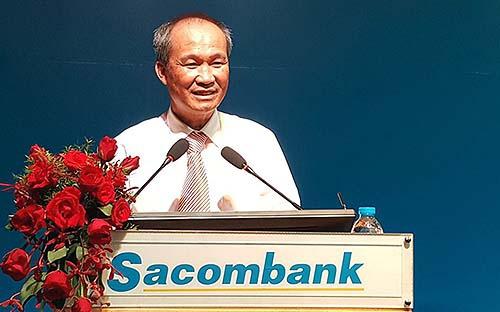 Ông Dương Công Minh, tân Chủ tịch Hội đồng Quản trị Sacombank - Ảnh: Hồng Vinh.