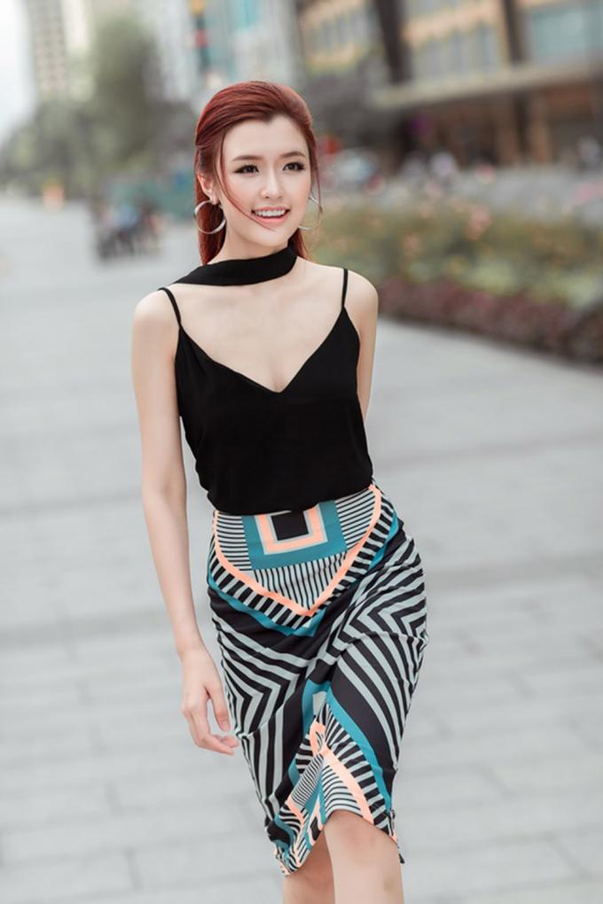 Phương Chi - cô gái đến từ thủ đô Hà Nội đã có những thay đổi lớn về nhan sắc.