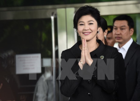 Cựu Thủ tướng Yingluck Shinawatra. (Ảnh: AFP/TTXVN)