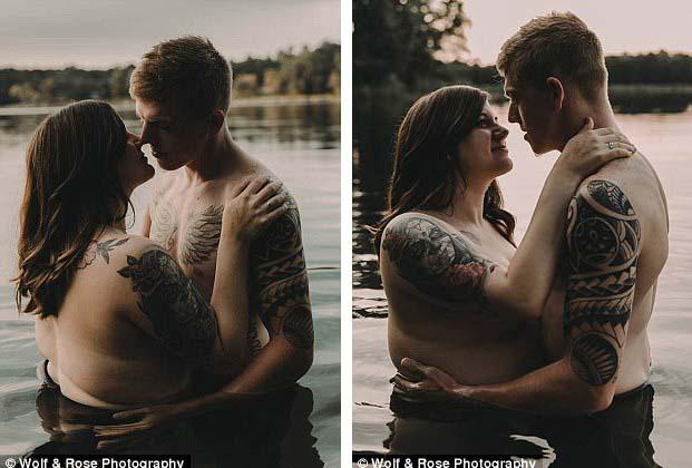 Stephanie cho biết vị hôn phu của cô luôn khiến cô cảm thấy mình được yêu thương vì chính bản thân mình hiện tại. Cặp đôi đã đính hôn hồi tháng 2 và dự định sẽ tổ chức hôn lễ năm 2019. Hiện tại, Stephanie đã có thai 5 tháng.