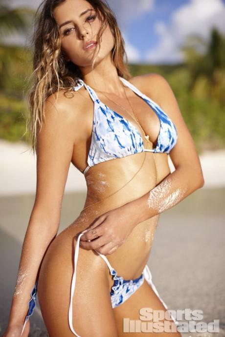 Một VĐV khác cũng sở hữu vẻ đẹp như tạc tượng là Anastasia Ashley. Vóc dáng của cô là kết quả của chuỗi ngày tập luyện nghiêm khắc.