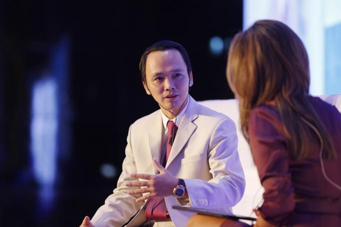 Ông Trịnh Văn Quyết- Chủ tịch HĐQT Tập đoàn FLC