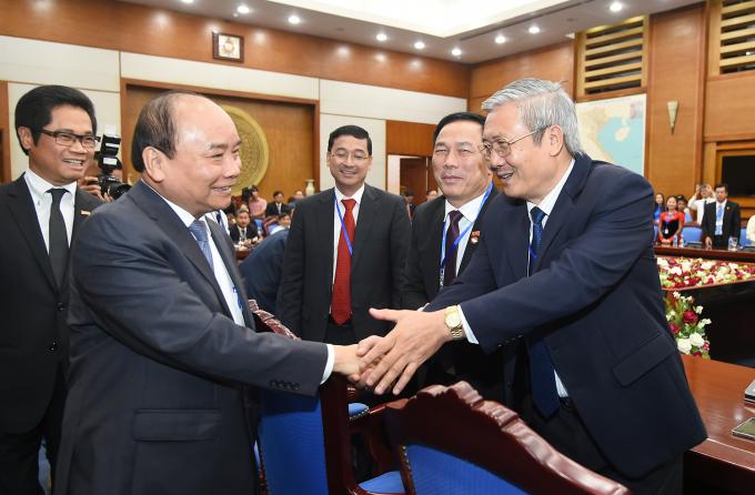Thủ tướng Nguyễn Xuân Phúc đã có cuộc gặp mặt lãnh đạo các hiệp hội doanh nghiệp trên toàn quốc