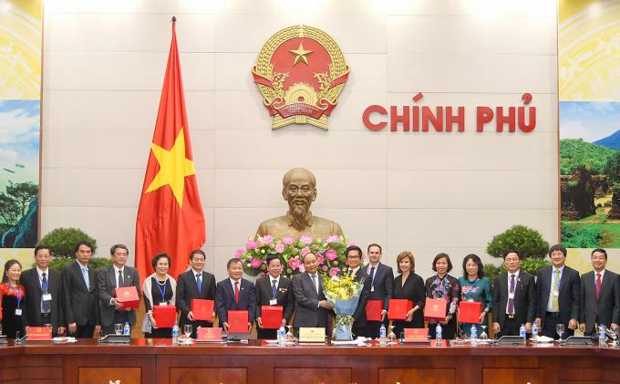 Thủ tướng tôn vinh, khen thưởng, bảo vệ doanh nghiệp phù hợp với thông lệ quốc tế.