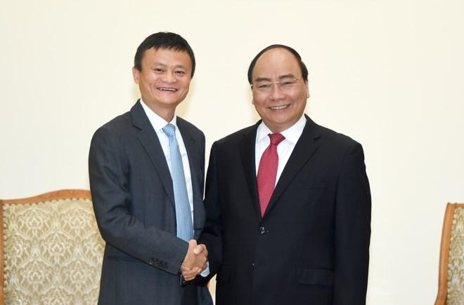 Chủ tịch Alibaba khẳng định Tập đoàn mong muốn hỗ trợ Việt Nam đẩy mạnh phát triển thương mại điện tử