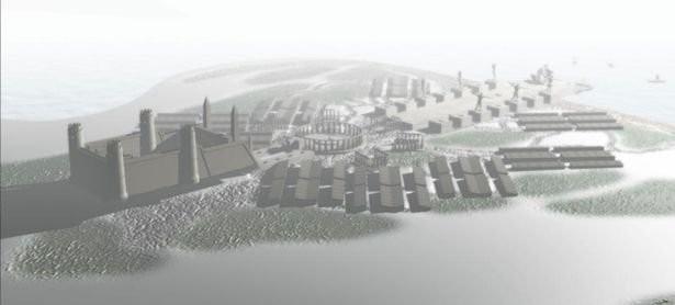 Thành phố có thể có từ thế kỷ thứ 1, 2