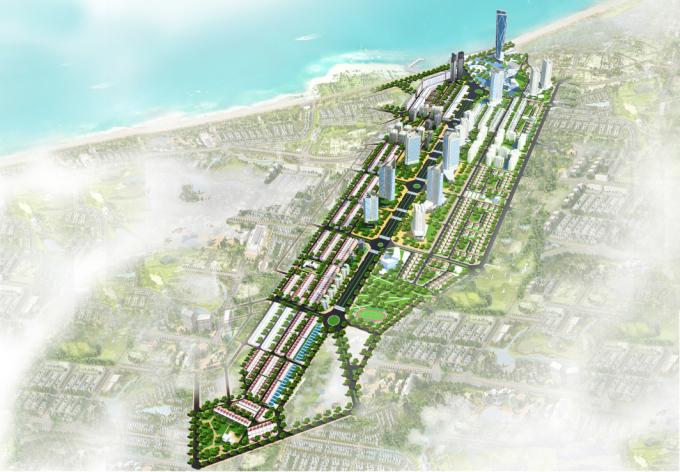 Phối cảnh dự án Piania City.