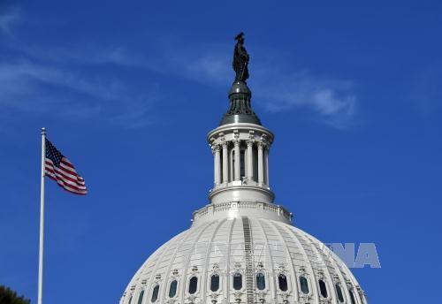Tòa nhà Quốc hội Mỹ ở Washington D.C. Ảnh: THX/TTXVN