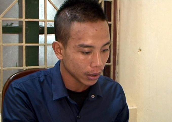 Một trong bốnđối tượng sát hại Nguyễn Quốc Hưng vào tối ngày 19/8.