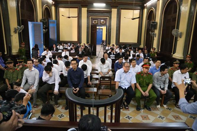 Bị cáo Phạm Công Danh tại phiên phúc thẩm ngày 27/12. (Ảnh Báo Thanh Niên)