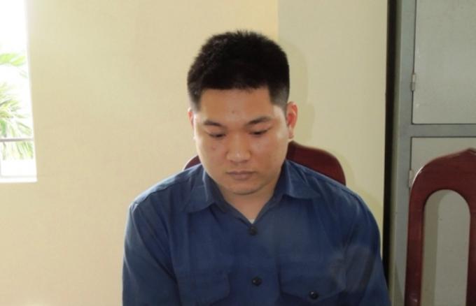 Đối tượng Nguyễn Anh Tuấn. (Ảnh: Công an Hà Nam)