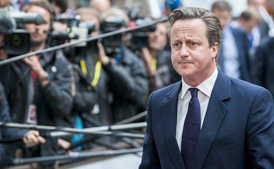 Thủ tướng Anh David Cameron đưa ra chiến lược quốc phòng mới. (Ảnh: AFP )