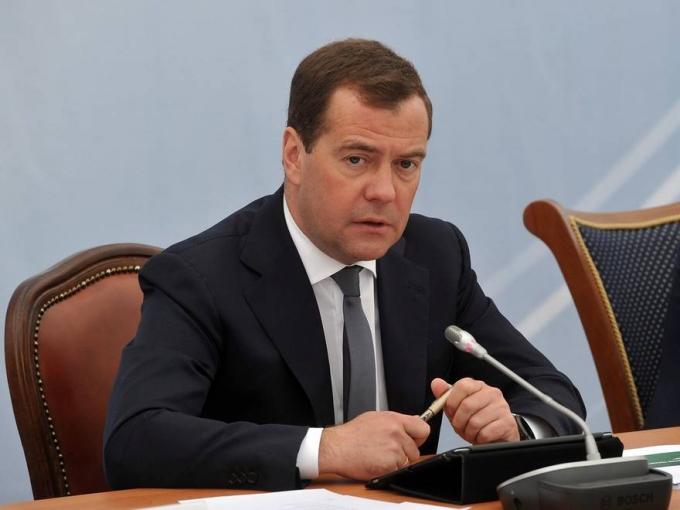 Thủ tướng Nga Dmitry Medvedev (Ảnh: RIA NOVOSTI)