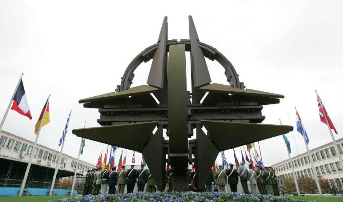 Cuộc họp cấp bộ trưởng của NATO diễn ra tại trụ sở Brussels (Ảnh: AP)
