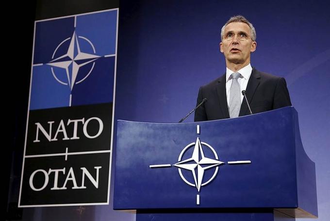 Tổng thư ký NATOJens Stoltenberg phát biểu về
