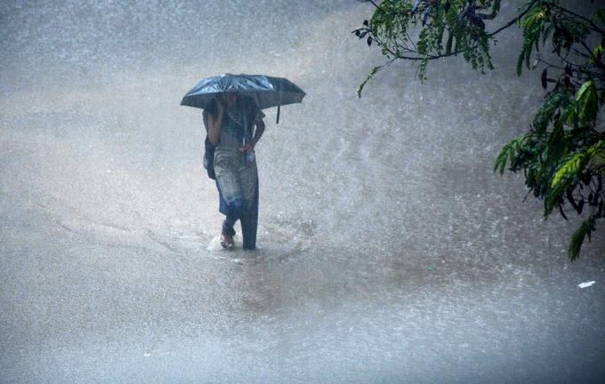 14. Các nhà khí tượng thủy văn Ấn Độ dự báo, mưa l