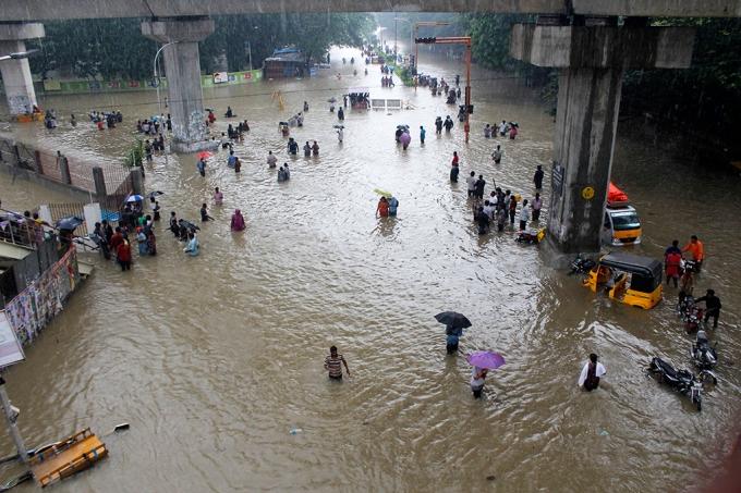 8.Vùng áp suất khí quyển thấp ở vịnh Bengal ngoài