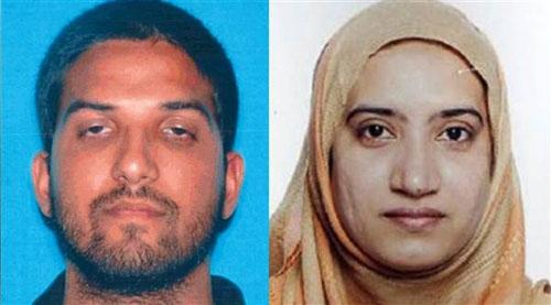 Hai phẩn tử tấn công ở California có mối liên hệ với IS (Ảnh: NBC News)
