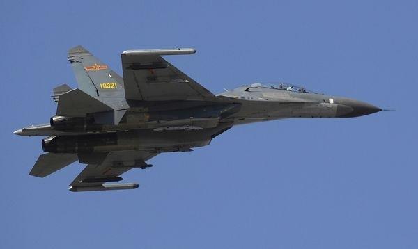 Máy bay chiến đấu J-10 của quân đội Trung Quốc (Ảnh: regnum.ru)