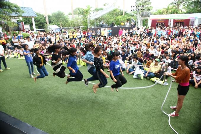 Lễ hội Văn hóa Việt - Hàn luôn thu hút được sự quan tâm của giói trẻ