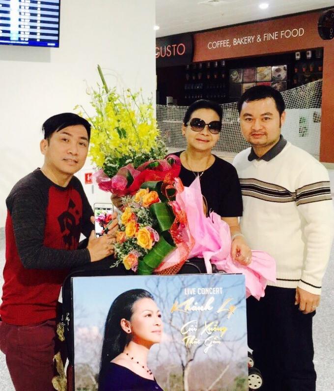 Khánh Ly và Quang Thành vô cùng ấm áp trước tình cảm của người Hà Nội