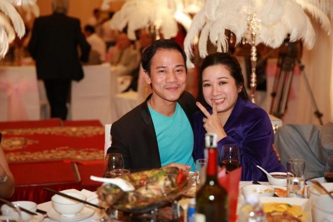 Vợ chồng nghệ sĩ Thanh Thanh Hiền - Chế Phong luôn nở nụ cười tươi