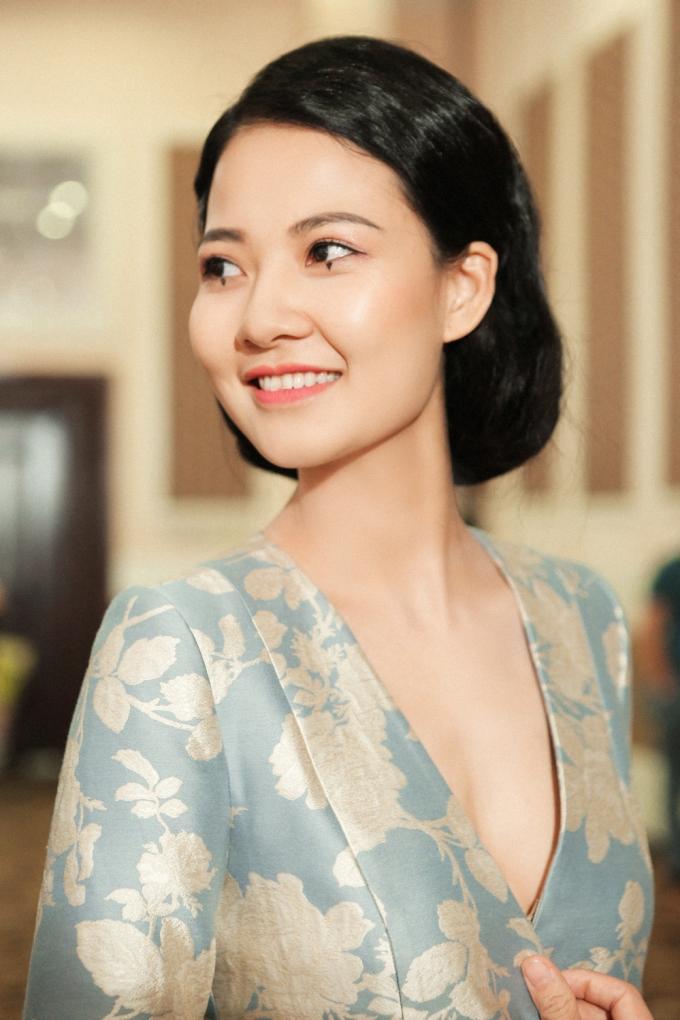 Nụ cười tỏa nắng của Trần Thị Quỳnh -Photo: Kim Bánh Trôi Nước