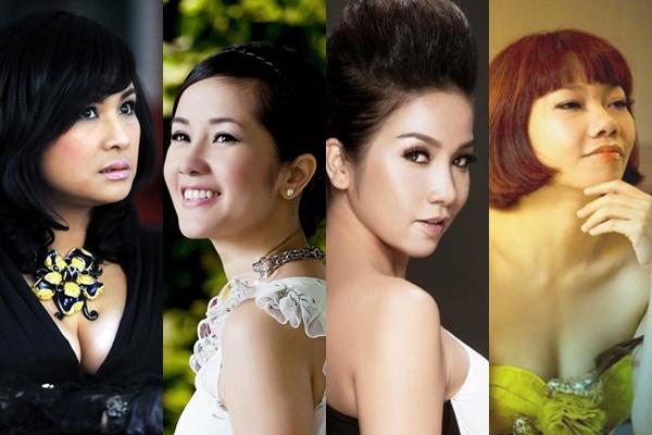 Thanh Lam - Hồng Nhung -Mỹ Linh -Trần Thu Hà là 4 giọng ca nữ xuất sắc của âm nhạc đương đại Việt Nam