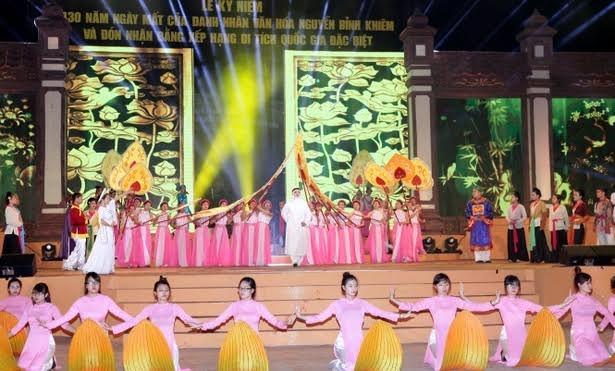 Chương trình nghệ thuật đặc sắc về cuộc đời Trạng Trình Nguyễn Bỉnh Khiêm.