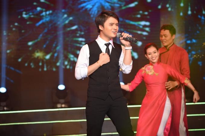 Hot boy Ngọc Sang - (Trò cưng của Mỹ Tâm trong Giọn hát Việt) tham gia Sài Gòn đêm thứ bảy với ca khúc